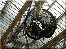 TQ3179 : The Clock, Waterloo Station, London SE1 by Christine Matthews