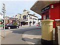 SC3978 : The Manx Arms and a golden post box by Richard Hoare