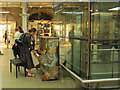 TQ3083 : Pop-up piano at St Pancras by Stephen Craven