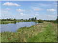 SK7853 : River Trent between Farndon and Newark  by Alan Murray-Rust