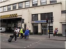 TQ2878 : Victoria coach station: passenger entrance by Stephen Craven