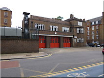 TQ3580 : Shadwell Fire Station by Mike Faherty