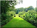 SO8610 : View from The Red House, Rococo Garden, Painswick by Brian Robert Marshall