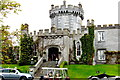 R3870 : Dromoland Castle Grounds - Entrance on SE Side by Suzanne Mischyshyn