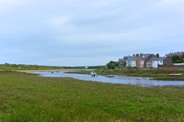 Afon Ffraw estuary, Aberffraw