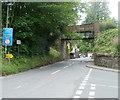 SO1122 : Former railway bridge, Talybont-on-Usk by Jaggery