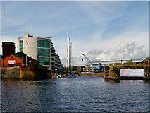 ST1974 : Visitor Moorings, Mount Stuart Graving Docks, Cardiff by David Dixon