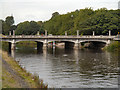 ST1776 : River Taff, Cardiff Bridge by David Dixon