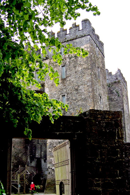 Bunratty Folk Park - Site #4 - Entrance to Exterior Castle Courtyard