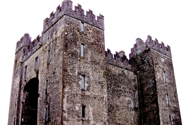 Bunratty Folk Park - Site #4 - Bunratty Castle - North & West Sides