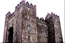 R4560 : Bunratty Folk Park - Site #4 - Bunratty Castle - North & West Sides by Suzanne Mischyshyn