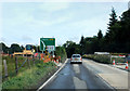 SH7617 : Road improvements on the A470 by Dave Croker
