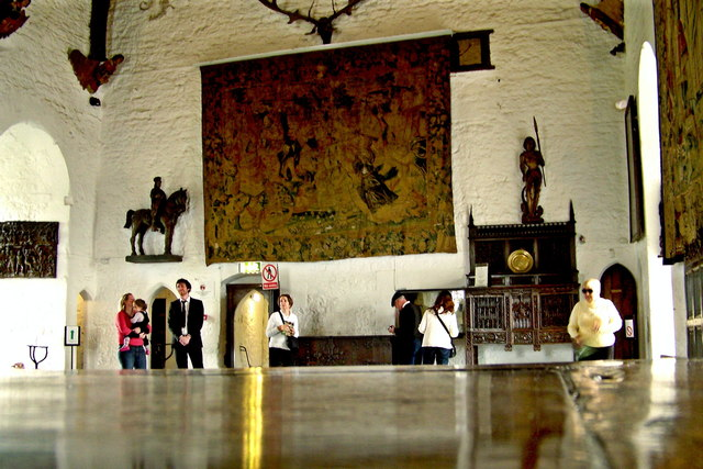 Bunratty Folk Park - Site #4 - Castle - The Great Hall on 3rd Central Level