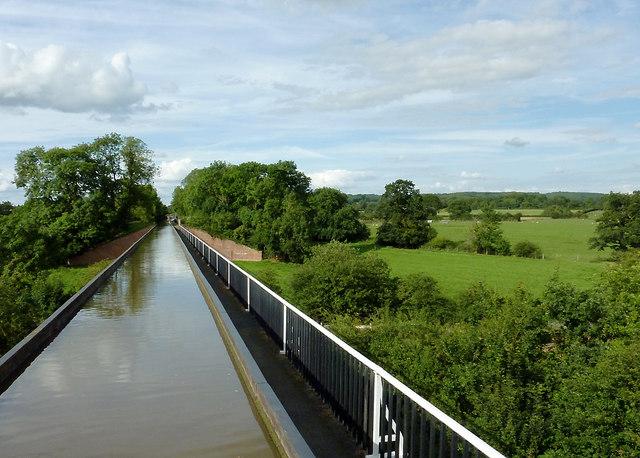 Edstone Aqueduct near Bearley Cross, Warwickshire