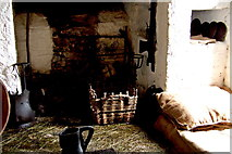 R4560 : Bunratty Folk Park - Site #4 - Castle - Servant Bedroom in Tower by Suzanne Mischyshyn