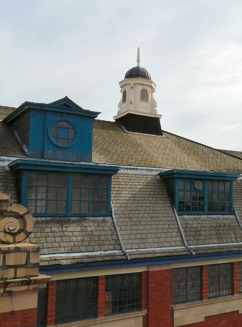 Roof at the rear of Chestergate
