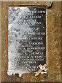 ST1877 : Cardiff Falklands Memorial (dedication) by David Dixon