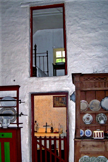 Bunratty Folk Park - Site #7 - Shannon Farmhouse - Bedrooms