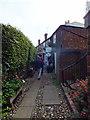 TQ9220 : Cobbles Tea Room, Hylands Yard, Rye by PAUL FARMER