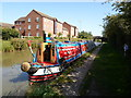 SP4092 : Working Narrow Boat Hadar moored at Hinckley by Keith Lodge