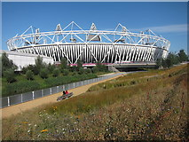 TQ3783 : Olympic Stadium by Oast House Archive
