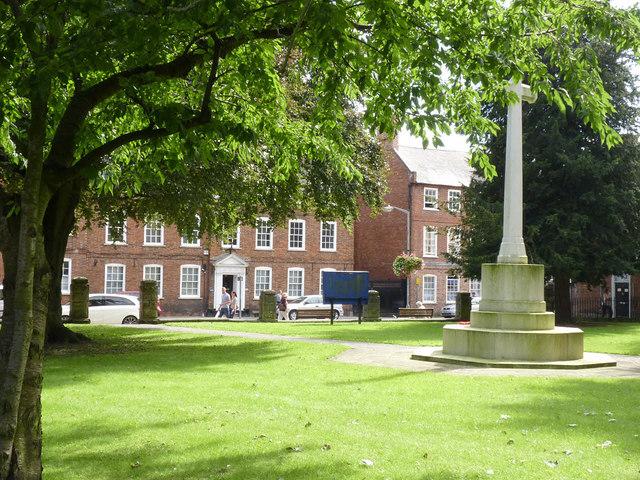War Memorial, St. Mary's churchyard