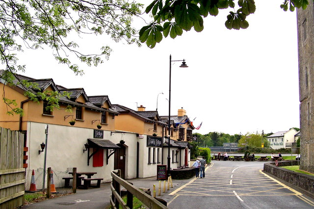 Bunratty - West Side of Durty Nelly's Pub - View to South