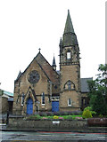 NT1972 : St Ninians Church by Thomas Nugent
