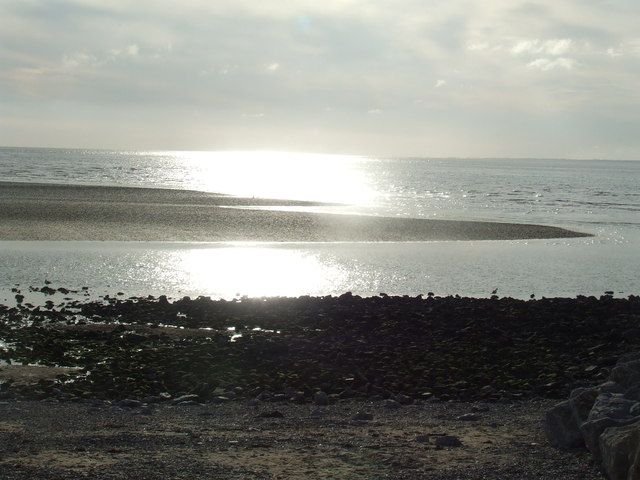 Evening sunshine, Morecambe Bay