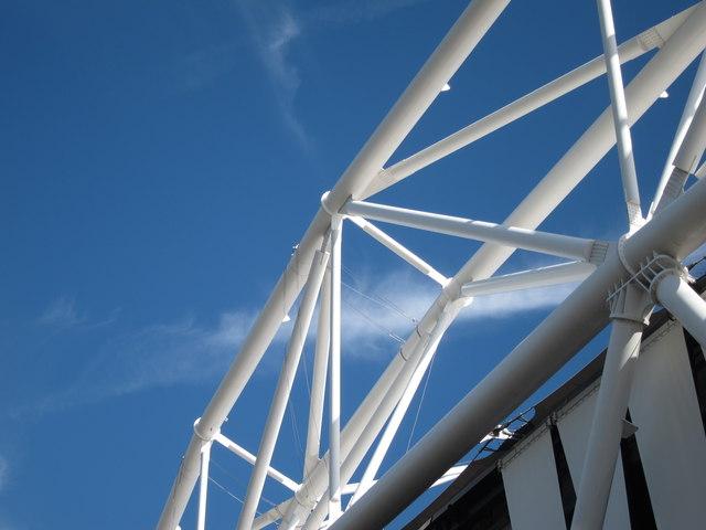 Olympic Stadium roof detail