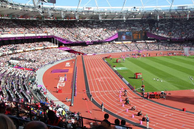 Wheelchair racing, Olympic Stadium