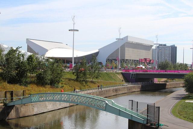 Bridge over Waterworks River, Olympic Park
