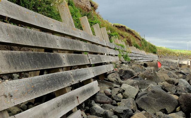Sea defences, Portballintrae (2)