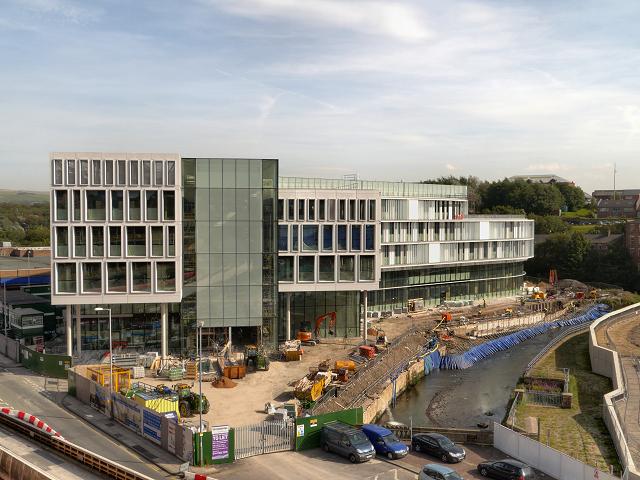 New Development Next To River Roch