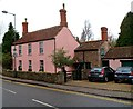 ST6390 : A pink house, Castle Street, Thornbury by Jaggery