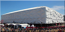TQ3785 : Velodrome and Basketball Arena, Olympic Park by Oast House Archive