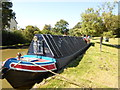 SP5077 : Working Narrow Boat Hadar moored at Broughton Park, Rugby by Keith Lodge