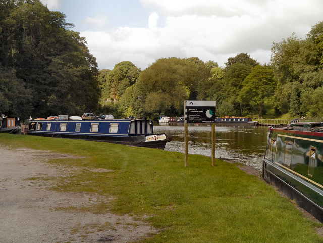 Trent and Mersey Canal, Saltersford Moorings