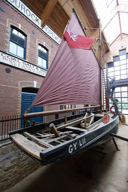 Perseverance (GY418), Grimsby