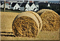 C8538 : Straw bales near Portrush (2) by Albert Bridge