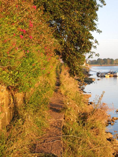 Riverside path