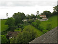 SX9268 : Houses on Rockhouse Lane, Maidencombe by Robin Stott