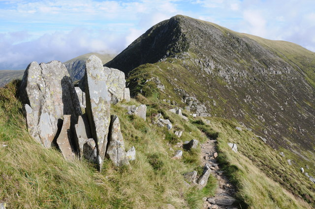 Rocks on Bwlch Eryl Farchog