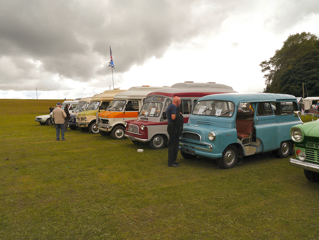 Heaton Park Camper Vans