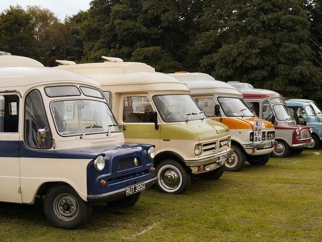 Dormobiles at Heaton Park