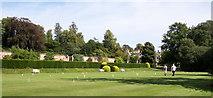 TQ1352 : Polesden Lacey, Croquet Lawn by Len Williams