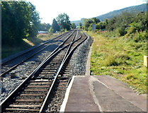 SO4382 : Heart of Wales line junction, Craven Arms by Jaggery