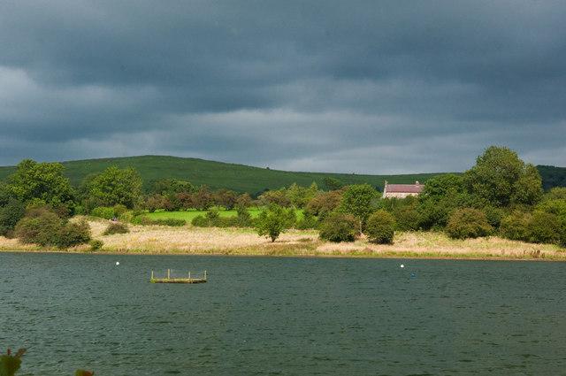 View across Carsington Water - Derbyshire
