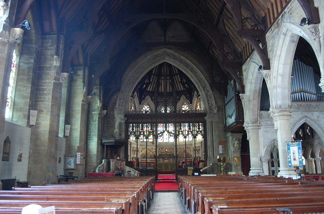 Interior Holy Trinity Church Hastings 169 Julian P Guffogg