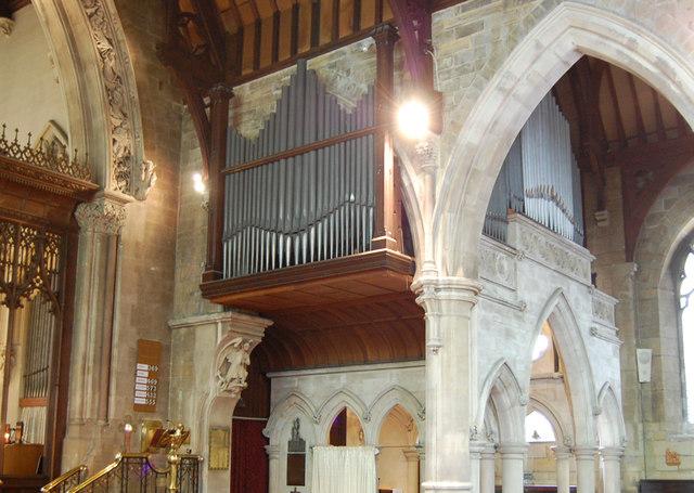 Organ In Holy Trinity Church Hastings 169 Julian P Guffogg